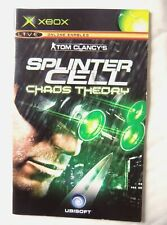 56428 Instruction Booklet - Splinter Cell Chaos Theory - Microsoft Xbox (2005)