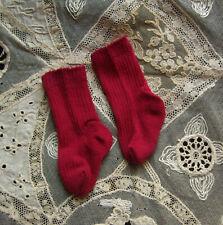 chaussettes poupée ancienne