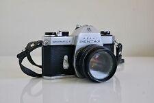 Asahi Pentax Spotmatic F 35mm SLR Film Camera with 1.8/55mm SMC Takumar Lens
