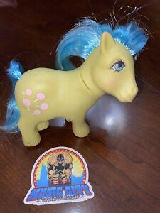 1984 Hasbro G1 My Little Pony Tootsie Concave Hooves MLP