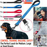 DOG LEAD STRONG PET LEASH COLLAR PUPPY TRAINING NYLON WALKING ROPE UK