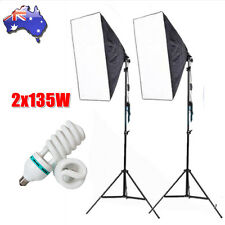 Continuous Lighting Kit Softbox Photo Studio Photography Soft Box Light Stand