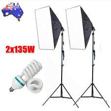 Continuous Lighting Kit Softbox Photo Studio Photography Soft Box Light Stand