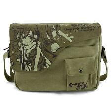 Anime Sword Art Online SAO Shoulder Bag Canvas School Bag Messenger Satchel Gift