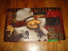 Anti Fatigue PVC Foam Kitchen Floor Mat Rug 18x30 Chef DAILY SPECIALS Italian!!