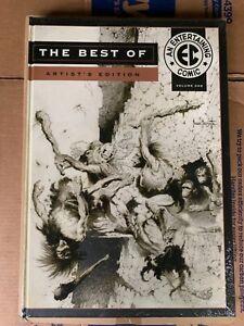 THE BEST OF EC Vol 1 ARTIST'S EDITION IDW Hardcover OOP Sealed Frazetta Kurtzman