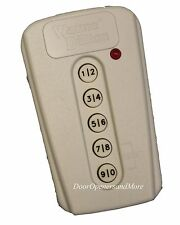 Wayne Dalton 309964 / 327308 KEP-3 Mini Wireless Keypad 372 MHz Comp with 327310