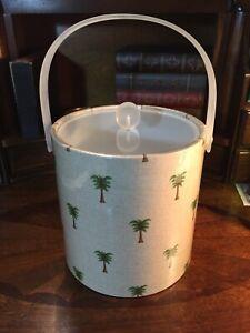 vintage acrylic lucite ice bucket