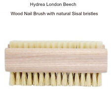 Hydrea London Wood Nail Brush Natural Sisal Bristles Manicure Pedicure