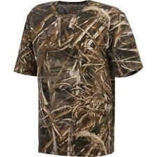 New Men's Real Tree Max 5 Camo Shirt Hunting Fishing Size XL __S191