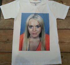 Mean Girls Mugshot T shirt  Small, Medium, Large, XL Lindsay Lohan