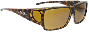 JONATHAN PAUL Polarized Sunglasses Fitovers Orion Cheetah Yellow ON003Y Large