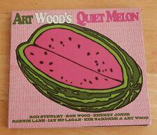 Art Wood's cd single Quiet Melon , Rod Stewart,Ron Wood,Ronnie Lane,Kenny Jones