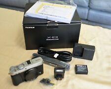 Fujifilm X-E3 24 MP Digital Camera - Silver (Body Only)