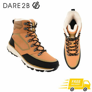 Dare2b Annecy Mid Waterproof Breathable Snow Skiing Boot Gold RRP £120