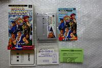 "World Heroes + Registration ""Good Condition"" Nintendo Super Famicom SFC Japan"