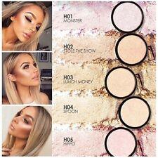5 Colors Makeup Powder Women's Face Highlighter Eyeshadow Contour