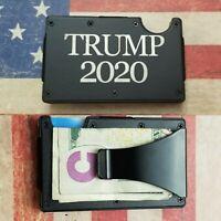 TRUMP 2020  laser engraved RFID tactical wallet