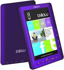 Libro ELECTRONICO Multimedia – BILLOW - Pantalla DE 7´´ TFT Color Purpura