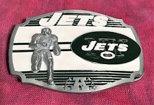 NEW YORK JETS PLAYER BELT BUCKLE NFL BUCKLES NEW