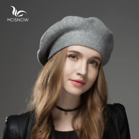 Winter Hat Berets 2019 New Wool Cashmere  Womens Warm Brand Casual High Quality