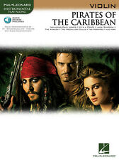 Pirates of the Caribbean, for Violin W/ Online Audio