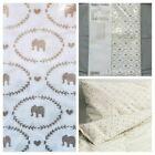 NWT••IKEA•• Elephant Patterned 'Hjartevan' Crib Sized Duvet Cover w/ Pillowcase