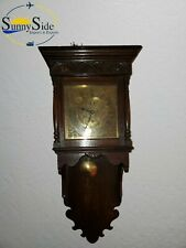 Antique Fusee England Wall Clock