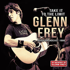 GLENN FREY of THE EAGLES New 2017 UNRELEASED 1986 LIVE CONCERT CD