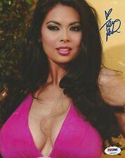 Tera Patrick Signed 8x10 Photo PSA/DNA COA Picture Autograph Penthouse Hustler L