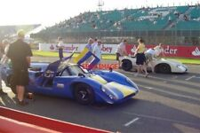 PHOTO  SILVERSTONE MORE LOLAS ON THE SECOND ROW OF THE GRID FOR THE EVENING SPOR