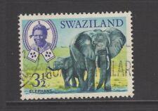 SWAZILAND 1969 3 1/2c AFRICAN ELEPHANT Fine Used
