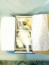 Danbury Mint Storybook Doll Porcelain Little Bo Peep w/ Sheep & Staff