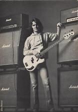 John Wetton King Crimson Roxy Music International Musician Trade Press Advert