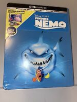 Finding Nemo (4K Ultra HD, Blu-ray, Digital HD, Steelbook) New sealed RARE