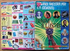 ALBUM UOMINI ILLUSTRI - Ed. Panini, 1967 - Con 114 Figurine e Cedole* vedi >>>