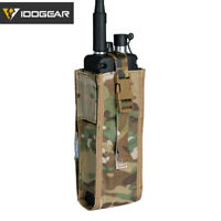 IDOGEAR Tactical Radio Pouch For PRC148/152 Walkie Talkie Holder MBITR MOLLE