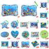 Aufblasbare Wassermae für Baby Kleinkinder Matratze Splash Playmat Bauch