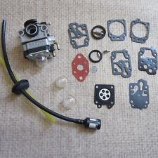 Carburetor & Carb Repair Kit Troy-Bilt TB26TB TB475SS TB490BC TB425CS 753-04296
