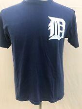 Detroit Boesch #26 T Shirt Mens Size Medium Tiger Blue 718