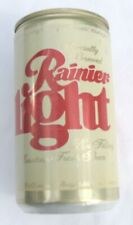 Vintage Rainier Light  12 ounce  Aluminum Beer Can by Rainier Brewing Co.