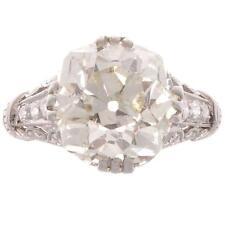 18k White Gold Cushion Cut GIA Certified 2.10 Carat Diamond Engagement Ring