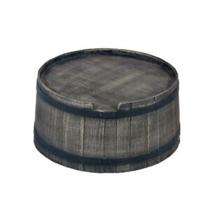 Stand for Roto Water Barrel 240L - Wood-Effect Style - Free UK Delivery