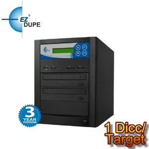 EZ DUPE Multimedia Duplicator 1 Target, backup data from DVD SD USB to disc