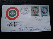 ITALIE - enveloppe 1/6/1966 (cy25) italy