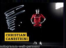 Christian Canestrini dinamo dresde 2013-14 top ak original sign. + a 61477