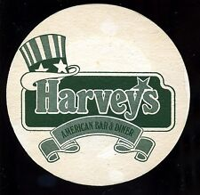 Bierdeckel--Harveys--American Bar & Diner--