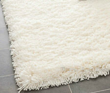 "8x10  Area  Rug Shaggy  SHAG 2 inch Plus Thick & Heavy Size 7'3""x10' White NEW"