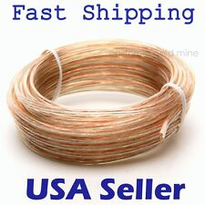 25 feet 24 AWG Gauge Car Home Audio SPEAKER WIRE Cable Stranded Oxygen Free EL05