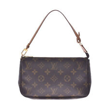 LOUIS VUITTON Monogram Pochette Accessoires Brown M51980 goods 802500033601000